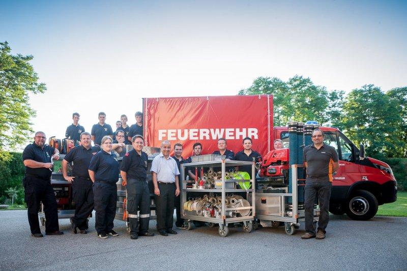 VF Kirchberg am Wagram eingetroffen