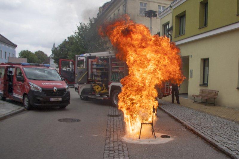 Feuerwehr am Naschmarkt