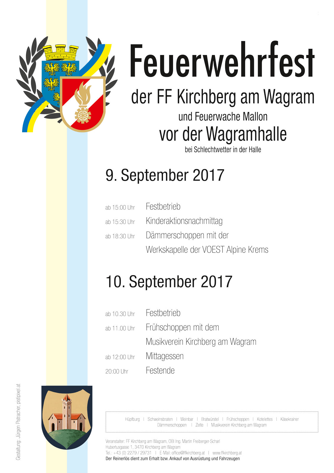 Feuerwehrfest Kirchberg am Wagram 2017