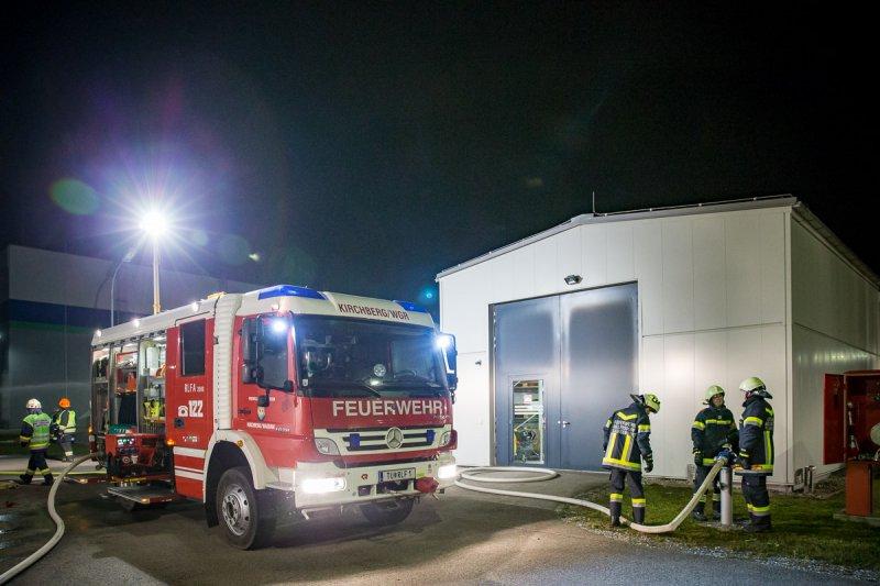 Jahresübung bei der Gas Connect Austria